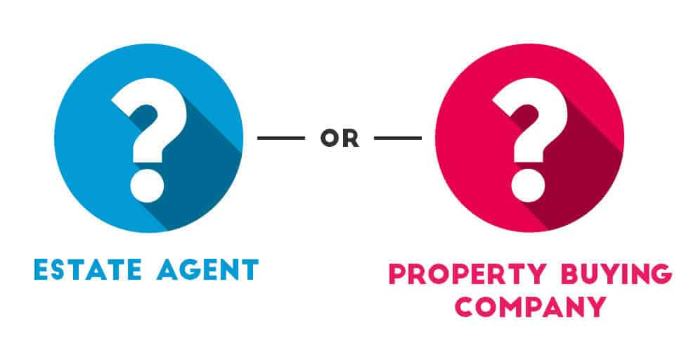 estate agent vs property buying company