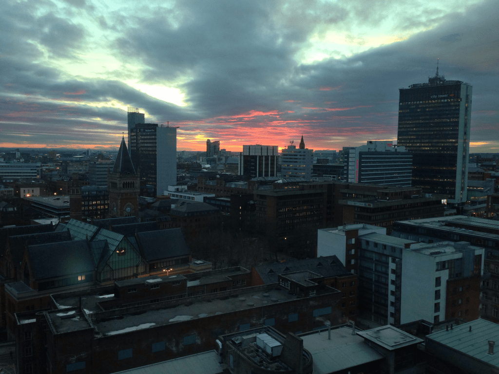 sell house fast manchester skyline