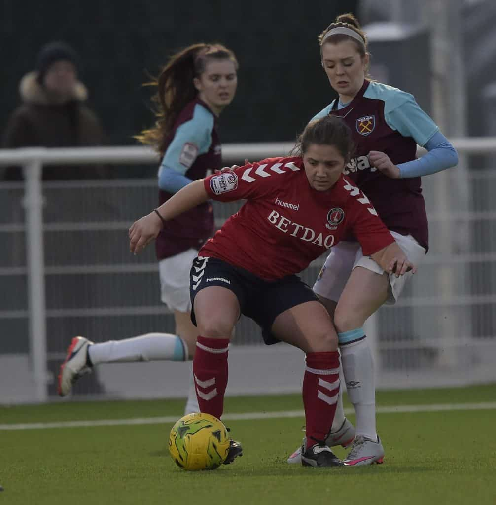 west ham goodmove womens cup close game