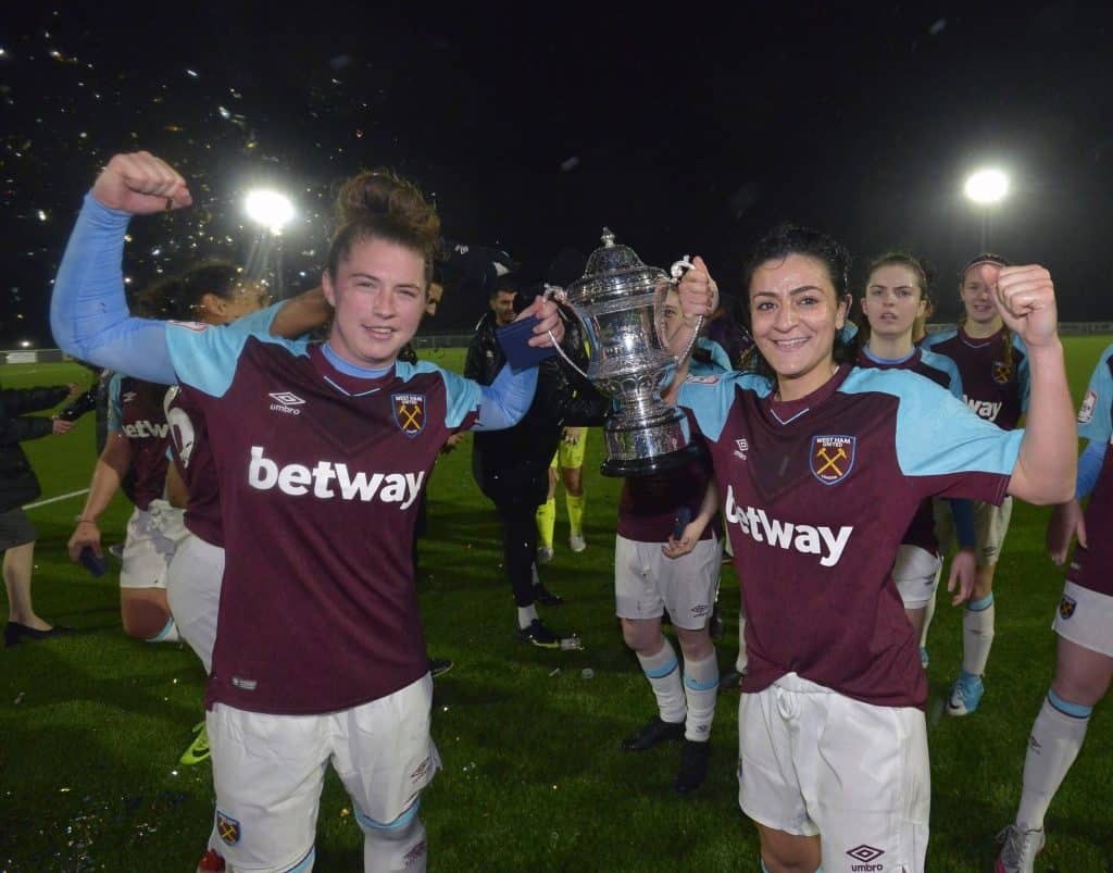west ham goodmove womens cup holding
