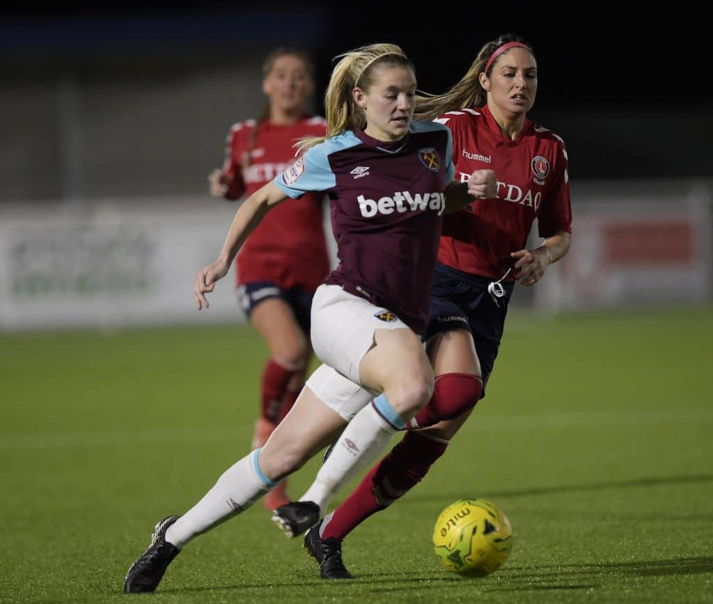 west ham goodmove womens cup chase