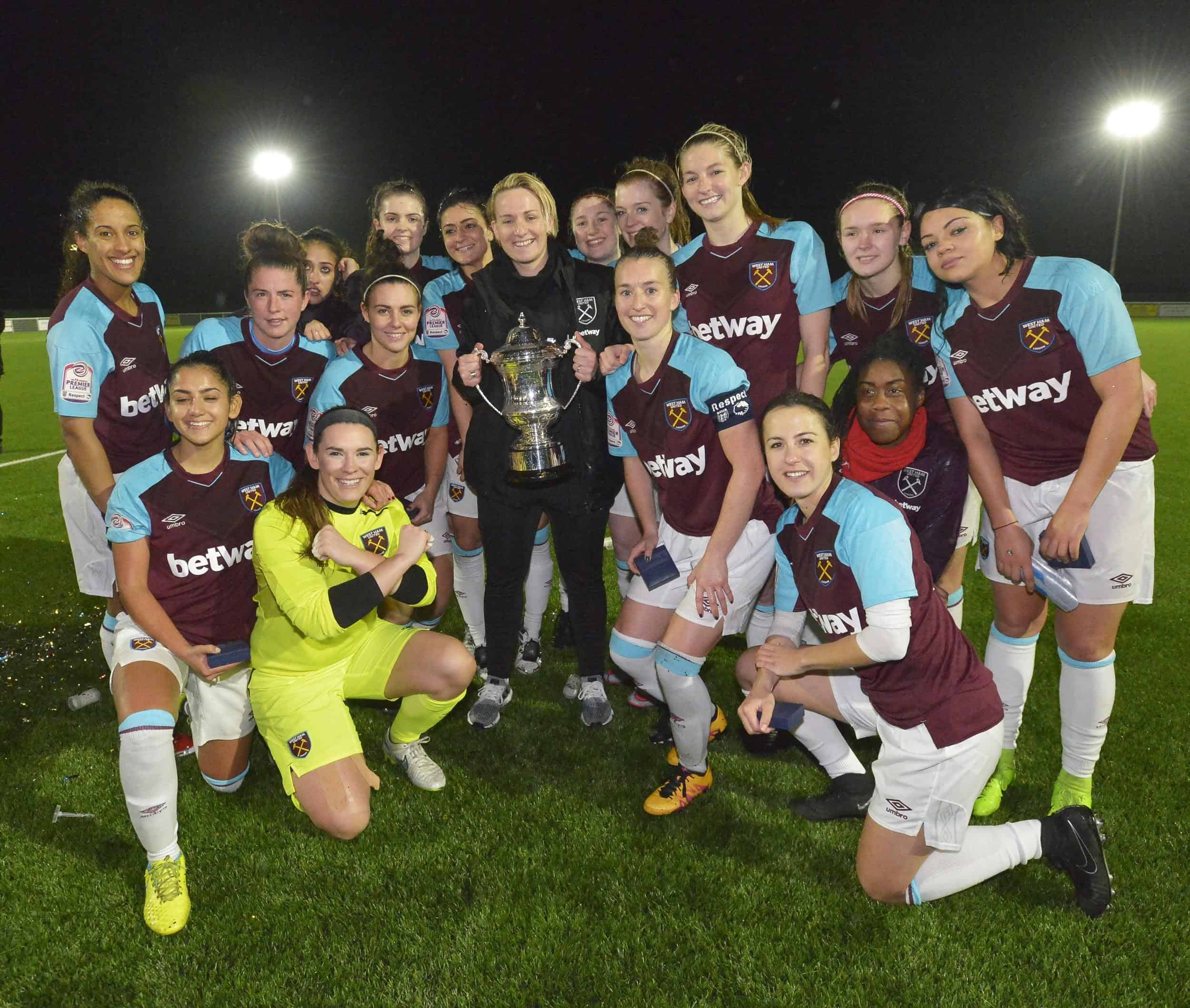 West Ham Win The Goodmove.co.uk Women's Cup