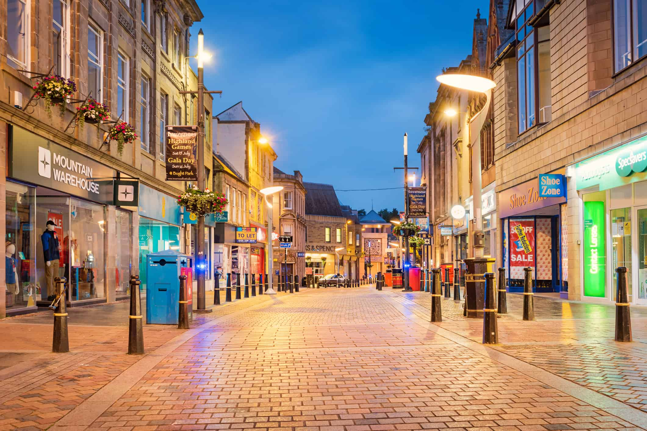 Image of UK highstreet