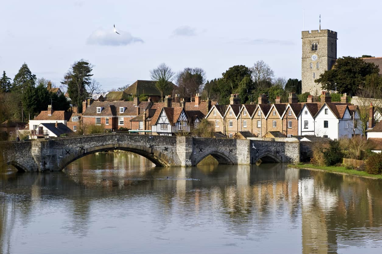 Aylesford and the River Medway