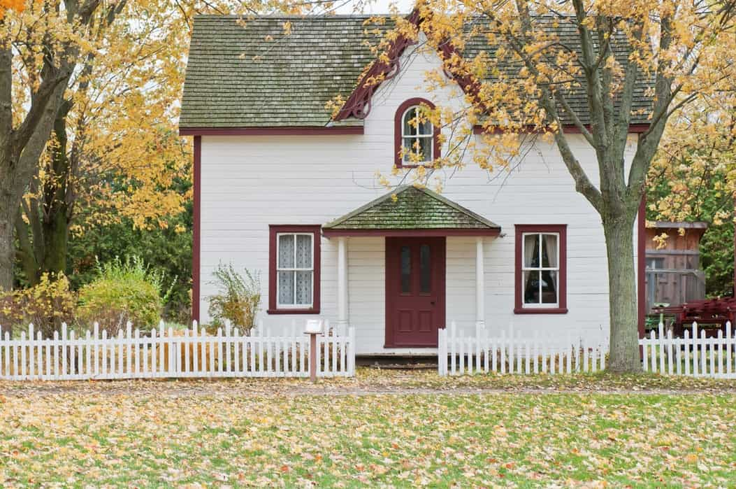 Photo of home in Autumn